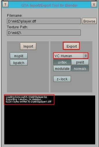 GTA 커뮤니티 | 바이스시티 모델/위치 오브젝트/버텍스 그룹